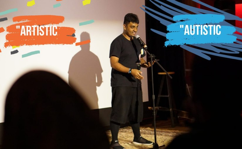 """""""Artistic and Autistic"""": Iyad & his spoken-word poem,""""Arising"""""""